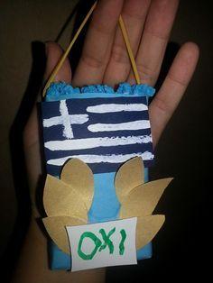 28η Οκτωβριου Ancient Greek Art, 28th October, Greek History, Autumn Crafts, National Holidays, School Holidays, Kid Spaces, Craft Activities, Kindergarten