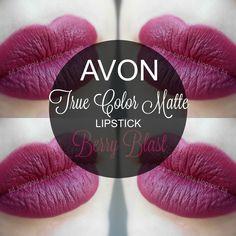 mela-e-cannella: Avon True Color Matte Lipstick - Berry Blast