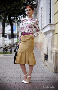 Polo Ralph Lauren skirt  #ralphlauren #polo #skirt #vintage #floral #looks #chic