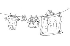 Free Dearie Dolls Digi Stamps: Cheryl, here are the new baby clotheslines you were looking for....