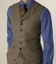 Paul Stuart - Wool/Cashmere Plaid Vest
