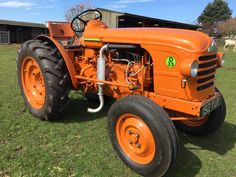 1960 Renault D35 Vineyard Tractor - For sale at http://www.restoredclassics.co.uk  £5000.00
