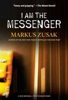 Markus Zusak - I Am the Messenger Ya Books, I Love Books, Good Books, Books To Read, This Book, Reading Lists, Book Lists, Reading Books, I Am The Messenger