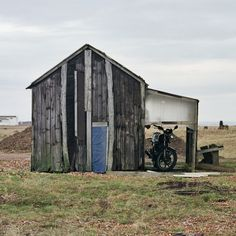 Cabin with motorbike Dungeness, Kent