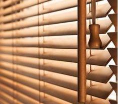 Store vénitien bois et bambou 25mm Store Venitien, Blinds, Pergola, Curtains, Bathroom, Home Decor, Outdoor Blinds, Bamboo, Washroom