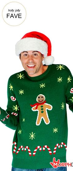 Holly & Jolly Gifts | Gingerbread Snack Christmas Sweater | Very Merry Gift Guide