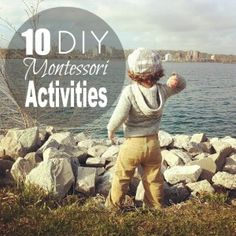 10 DIY Montessori Activities