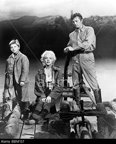 Movie 'River of no return', 1954