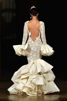 Majestuoso vestido novia