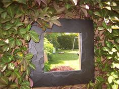 Like the idea of have mirrors is the garden, in just the right place they can have a real impact and change the whole look. Description from pinterest.com. I searched for this on bing.com/images