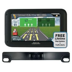 MAGELLAN RM5255SGBUC RoadMate(R) 5255T-LM 5 GPS Device with Backup Camera & Free Lifetime Maps & Traffic Updates