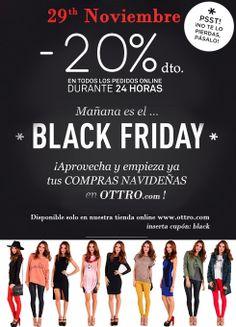 Black Friday llega a la tienda online de firmas exclusivas Ottro.com