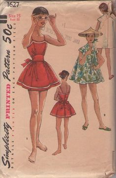 50s playsuit