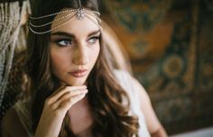 1 Gown 2 Ways: Luxe boho and the silver screen | WHITE Magazine Hair and Makeup- The Beauty Case