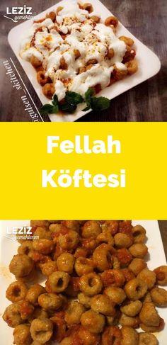 Fellah Köftesi (Detaylı - Aşamalı Anlatım)