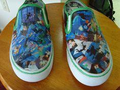 Peter Pan DIY shoes, love them!