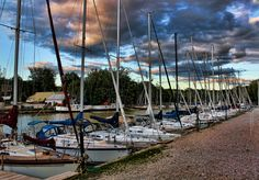 """Bayfield, Ontario (""""Safe Harbour"""" by Janette Baillie, via 500px)"""