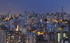 Skyline Sao Paulo City Brazil At Night Wallpaper HD Photo Plan Nacional, Brazilian Grand Prix, Taipei 101, Sao Paulo Brazil, San Pablo, South America Travel, Most Beautiful Cities, Best Cities, Jakarta