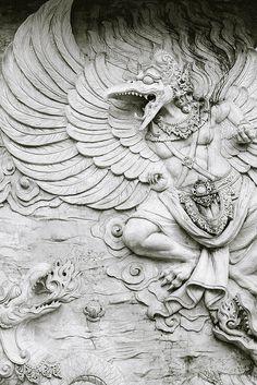 statues-and-monuments: Garuda by azizul hadi Bali, Indonesia