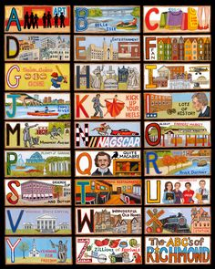 ABC's of Richmond, VA!