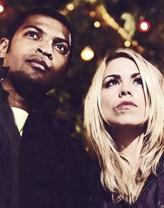 Mickey Smith and Rose Tyler. | Mickey>~< | Pinterest | Roses