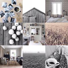 Nordic living. My home. Nordic lifestyle. Moodboard. Interior. By Johanna Sandberg.