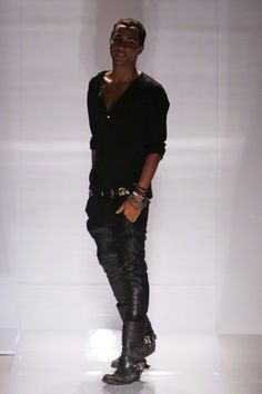 Those Balmain boots are the baddest things ever.
