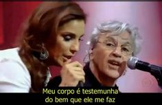 A classic written by Chico Buarque, performed here by Ivete Sangalo & Caetano Veloso.