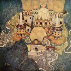 Edmund Dulac - The Palace of the Dragon King