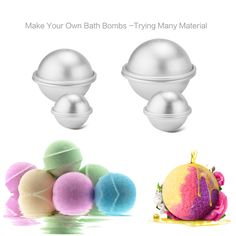 Sensible 1pcs Cake Moulds Baking Pastry Chocolate Plastic Sphere Bath Bomb Water Ball Diy Bathing Tool Accessories Creative Molds Beauty & Health
