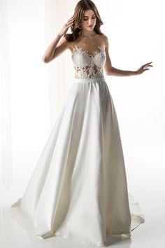 #JIOULI_Bridal  2019 s/s Collection #bridal #bridal_wear #marriage #bride #wedding #wedding_dress www.Jiouli.com Prom Dresses, Formal Dresses, Wedding Dresses, Bridal Collection, Marriage, Bride, Boho, Fashion, Rosa Clara