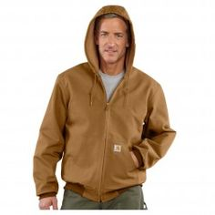 Carhartt Mens Duck Active Thermal Jacket J131