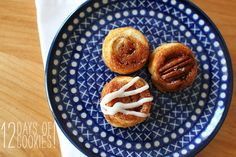 Sticky Pecan Bites (adapted from Chewy, Gooey, Crispy, Crunchy) looks very good, (and cute!)