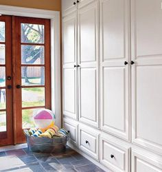 mudroom closet/cabinet ideas | Stylish Storage Solutions for your Mudroom