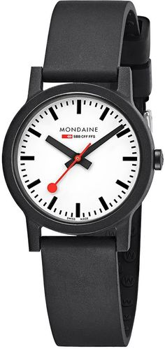 11045084e0b9 Mondaine Watch Essence  mondaine  watch  watches  essence  black  luxury