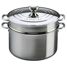 Le Creuset 3-ply PLUS Pastatopf mit Einsatz http://bleywaren.de/products/le-creuset-3-ply-plus-pastatopf-mit-einsatz