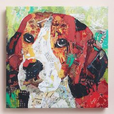 One of my favorite discoveries at WorldMarket.com: 'Beagle' by Sandy Doonan