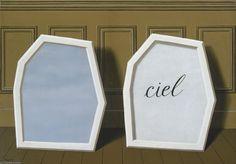 le palais rideaux , III de Rene Magritte (1898-1967, Belgium)