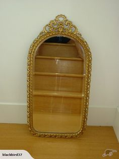 Gold Metal Edged Mirror | Trade Me