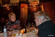 Arno met Chef Ria in tlandhuys Oostende Arno, Cool Pictures, Restaurant, Amazing, Diner Restaurant, Restaurants, Dining
