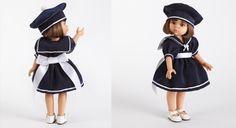 Réveillez vos souvenirs d'enfance en confectionnant grâce aux explications, cette jolie robe inspiration Belle-Île-en-Mer pour la poupée de votre fille. C'est un jeu d'enfant ! ...