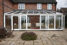 REHAU Large Lean-to uPVC conservatory adds extra living space