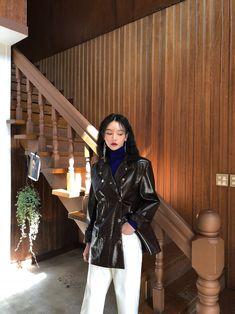 Korean Street Fashion, Korea Fashion, Asian Fashion, High Fashion, Womens Fashion, Girl Outfits, Fashion Outfits, Korean Outfits, Mode Style
