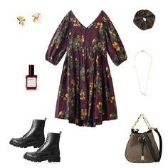 エフォートレスなドレスを提案している「マーレット」。待望の新作Collection No.10は、大判のフローラル柄が存在感たっぷり! アートピースのような美しさ、優美で女性らしいシルエットと抜群の着心地が叶うドレスを主役に、秋のコーデを先取りしましょう。おうちで洗えるところも高ポイント。ドレスを引き立てるために、小物は最小限に。トレンド感のあるブーツで合わせ、秋らしさが漂うスタイリングに一番乗り♡ Today's Outfit, Polyvore, Outfits, Fashion, Moda, Suits, Fashion Styles, Fashion Illustrations, Kleding