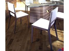 Dakota Dining Table With Adeline Chairs, modern dining room chairs