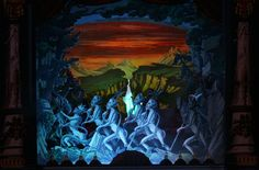 Der Freischütz. Aufführung von Multum in Parvo Papiertheater, Mering.