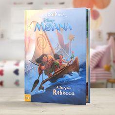 Personalised Disney Moana StoryBook - Moana - Hardback