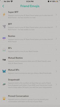 ♡ sub 2 utube-lenken nedenfor! Noms Snapchat, Snapchat Streak Emojis, Names For Snapchat, Snapchat Friend Emojis, Snapchat Quotes, Snap Snapchat, Instagram Captions For Selfies, Instagram And Snapchat, Instagram Quotes