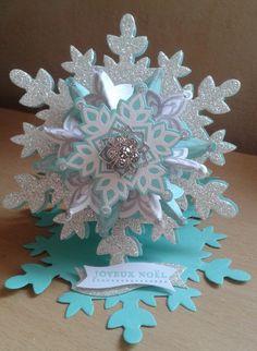 étoile de noël festive flurry