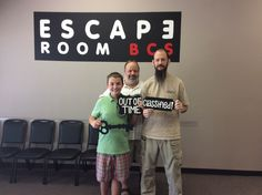 This group was so close to escaping Classified! 68 minutes with no hints!